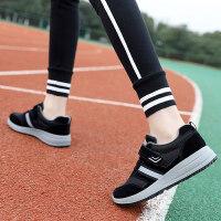 妈妈鞋软底舒适棉鞋中老年人女鞋加绒滑平底中年老人健步