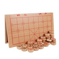 实木象棋套装木质传统经典智力玩具中国象棋便携折叠棋盘逻辑思维送儿童生日礼物
