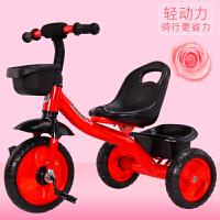 儿童三轮车脚踏车1-3-5-2-6周岁大号轻便童车婴幼手推车宝宝单车YW137 红色经典款发泡轮 A款