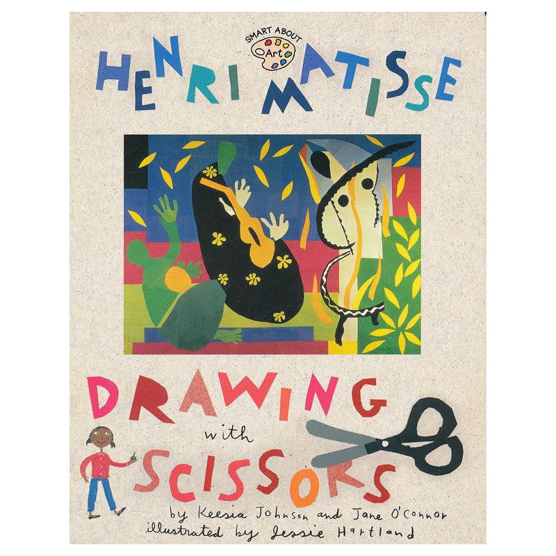 Henri Matisse: Drawing with Scissors 亨利·马蒂斯:用剪刀画画 9780448425191