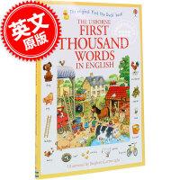 现货包邮 基础英语1000词 英文原版 FIRST THOUSAND WORDS IN ENGLISH 少儿英语 词汇