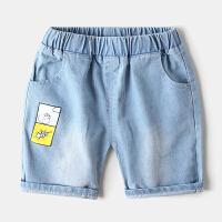 夏装儿童卡通牛仔短裤宝宝短裤