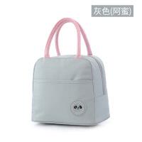保温饭盒袋手提厚帆布便当袋学生上班保冷保温铝箔便捷收纳袋