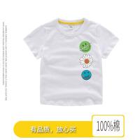 【3件2折价:26元】斯提妮2021全棉宝宝卡通t恤小孩上衣儿童短袖T恤男女童打底半袖