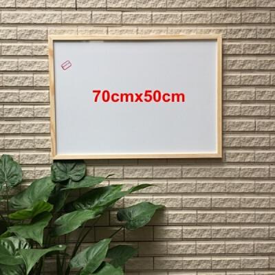 实木白板支架式黑板挂式写字板家用教学磁性白板留言小白板