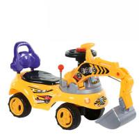 挖机玩具车可坐人 小孩大号男孩儿童可坐可骑可坐人机玩具勾机车挖土机挖掘 七天无理由退换