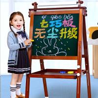七巧板儿童画画板画架磁性家用小黑板支架式可升降宝宝小学生写字