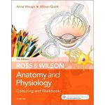 【预订】Ross and Wilson Anatomy and Physiology Colouring and Wo