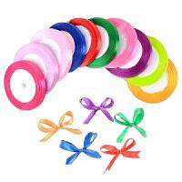 儿童DIY手工彩带制作蝴蝶结织带绸带丝带手工制作包装装饰材料