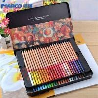 秘密花园 魔法森林 奇幻梦境涂色笔 填色笔 MARCO马可3100-48TN雷诺阿彩色铅笔 48色 铁盒装油性彩铅