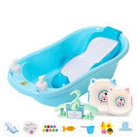 0-3-6岁宝宝用品浴盆澡盆婴儿洗澡盆大号厚儿童浴盘可坐躺浴盆