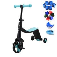 三合一儿童滑板车骑滑车2-6岁多功能三轮车滑行车脚踏车YW151