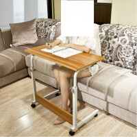 学习桌简易可移动 简易折叠书桌家用学生电脑桌可移动床上学习桌升降台式写字桌