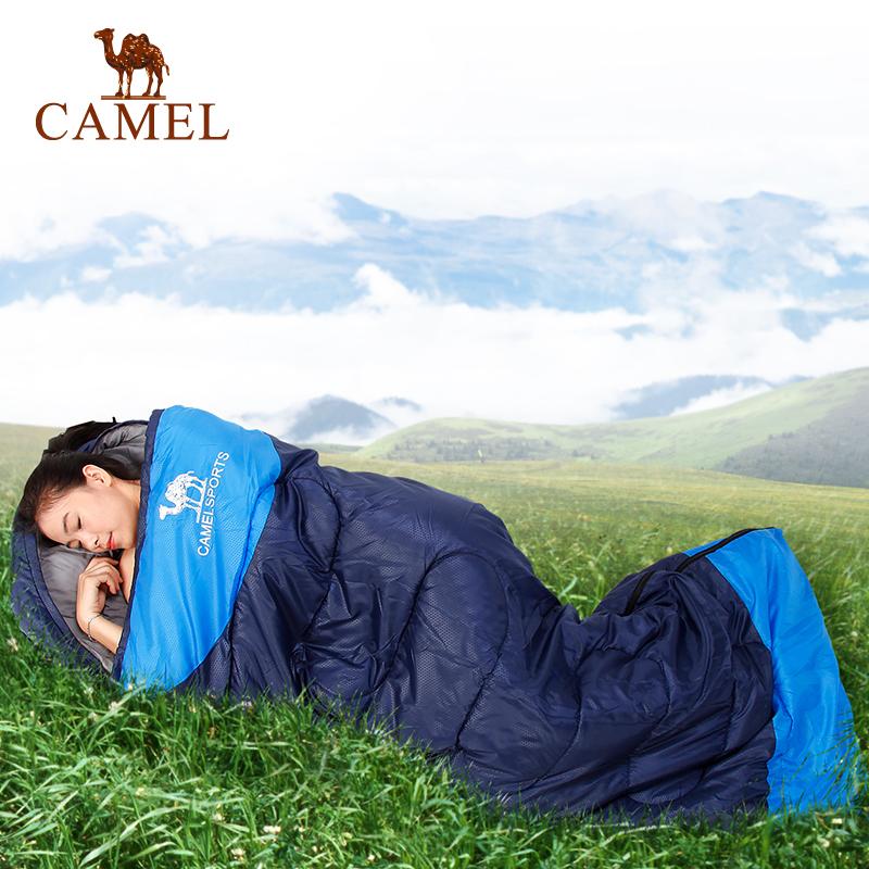 camel骆驼户外睡袋 野营户外加厚成人睡袋 1.35kg保暖睡袋官方正品  七天无理由退换货