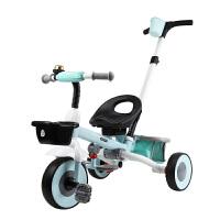 儿童三轮车脚踏车折叠1-3 宝宝三轮车2-6岁 大号 婴儿手推车童车LYZT50