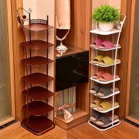 简易多层鞋架经济型家用家里人收纳防尘鞋柜省空间宿舍鞋架子r 新款 3层 黑色