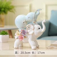 大象摆件家居酒柜装饰品室内客厅摆设卧室房间的小工艺品创意