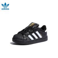 【到手价:329元】阿迪达斯adidas童鞋19新款婴幼童学步鞋宝宝鞋SUPERSTAR I运动鞋 (0-4岁可选)