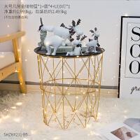 ins北欧家居装饰房间的小饰品摆件卧室客厅新婚礼物创意鹿摆设品 0