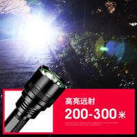 C8照明手电筒充电远射led小便携家用户外灯