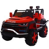 儿童汽车可坐人双人儿童电动汽车可遥控可坐人四轮越野玩具车座超大号充电童车ZQ157