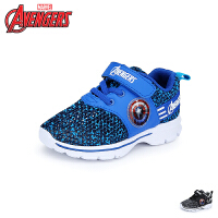 【99元任选2双】迪士尼Disney童鞋19新款美国队长儿童运动鞋男童透气休闲鞋(5-10岁可选)VA4040