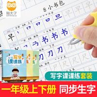 猫太子小学生硬笔正楷书书法练字本 一年级上下册人教版2019年课本同步
