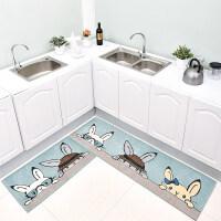 厨房地垫防滑防油家用长条脚垫小地毯卫生间吸水垫子门口进门门垫
