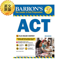 英文原版 巴朗ACT指南,第3版 Barron's Act, 3rd Edition