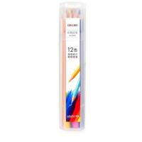 得力6530/6531/6532/6533学生彩色铅笔绘画笔彩色笔填色笔彩铅涂鸦笔圆形笔杆