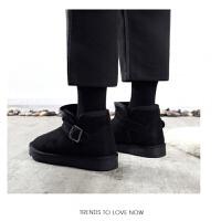 BANGDE雪地靴女短筒冬季2018新品韩版百搭学生棉鞋加绒加厚滑雪地棉