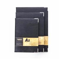 商务皮面记事本 办公文具笔记本 皮质软面抄 记事薄 随身携带日记本