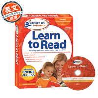 Hooked on Phonics Learn to Read Pre-K Level 1 英文原版 附DVD 迷上语