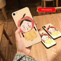 苹果iphone6手机壳全包防摔浮雕磨砂7plus个性创意可爱卡通女款8x新款iphone xs m