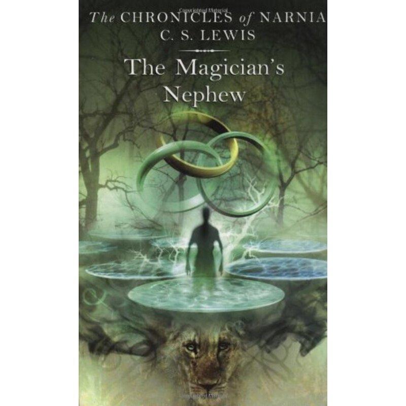 纳尼亚传奇1 魔法师的外甥 英文原版奇幻小说 The Magician's Nephew 儿童文学书 英文版进口英语书正版现货 纳尼亚传奇系列1内容无删减 配插图