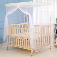 三胞胎双胞胎婴儿床拼接大床宝宝bb双人新生儿童床实木无漆多功能