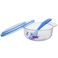 NUK 宝宝碗勺餐具套 蓝绿随机发货