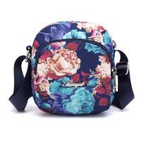 新款休闲斜挎包女小包迷你尼龙小挎包运动帆布包手机包零钱包