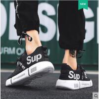 鞋子男网红同款户外新品新款韩版潮流休闲帆布鞋运动时尚男鞋百搭潮板鞋子