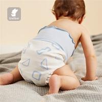 尿布裤婴儿可洗棉透气宝宝尿布兜隔尿裤宝宝尿布兜