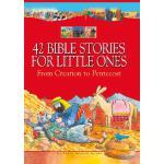 【预订】42 Bible Stories for Little Ones: From Creation to Pent
