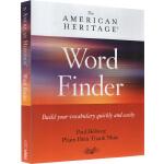 英文原版 美国传统词典 词汇查找 American Heritage Word Finder 英语学习工具书