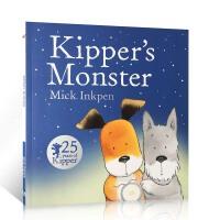 顺丰发货 英国进口原版绘本 Kipper's Monster 25周年版 小狗奇普和怪 廖彩杏书单第44周第84本推荐
