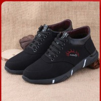 老北京布鞋冬季男棉鞋中老年舒适爸爸鞋加厚加绒冬天老人保暖男鞋