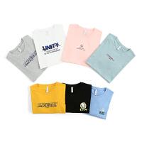 [到手价:32.9元]真维斯男装 2021春季新品 全棉平纹圆领修身型印花短袖T恤