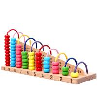 小孩子玩具加�p算�颠\算架�底炙阈g�P�文�W��算架彩虹�@珠益智玩具6-14�W��和���Y物�Y品 �文�10�n�@珠�算架