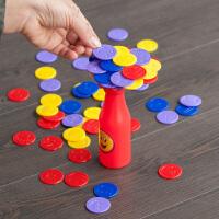 脑力大作战 瓶子叠叠乐儿童桌面积木平衡游戏亲子互动益智类玩具