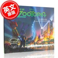 现货 英文原版 The Art of Zoo***ia 迪士尼疯狂动物城电影画册