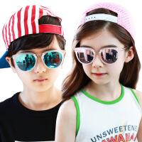儿童墨镜男童宝宝太阳镜偏光女童防紫外线小孩眼镜公主