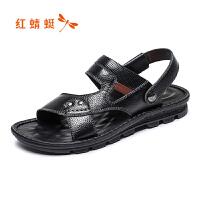 红蜻蜓男鞋男凉鞋WTL7296